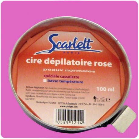 Cire dépilatoire Rose 100 g.