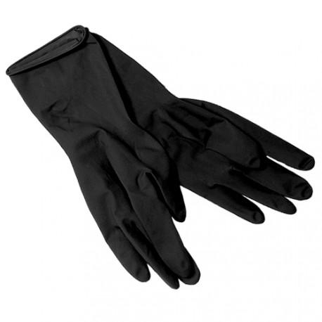 Gants latex Noir, la paire